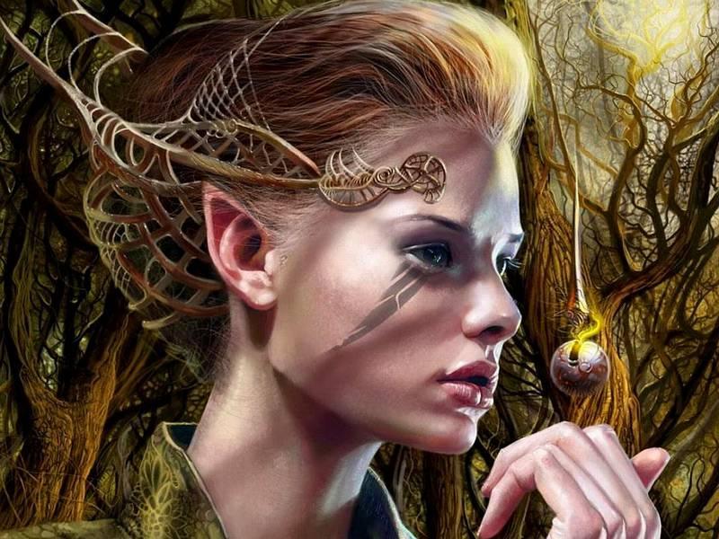 какие у эльфов волосы