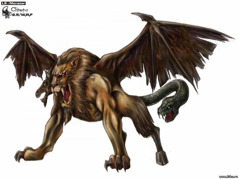 Фото и картинки описание чудовища